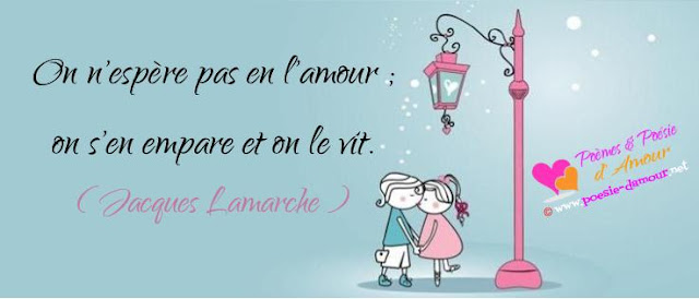 Beau proverbe d'amour image