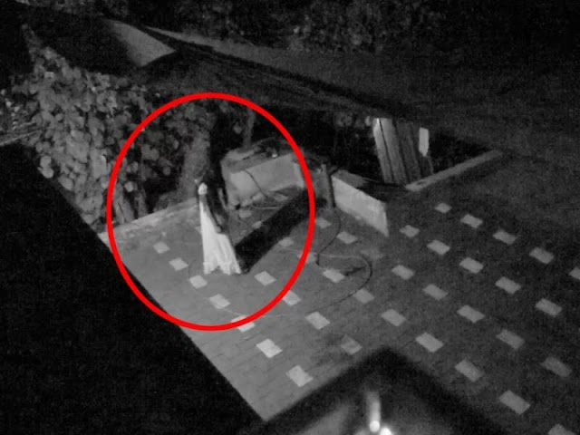 ghost capture on roof