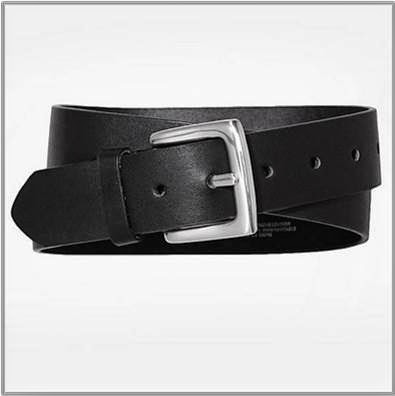 Ladies Black Casual Belt