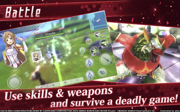 Sword Art Online Integral Factor Mod Apk for Android