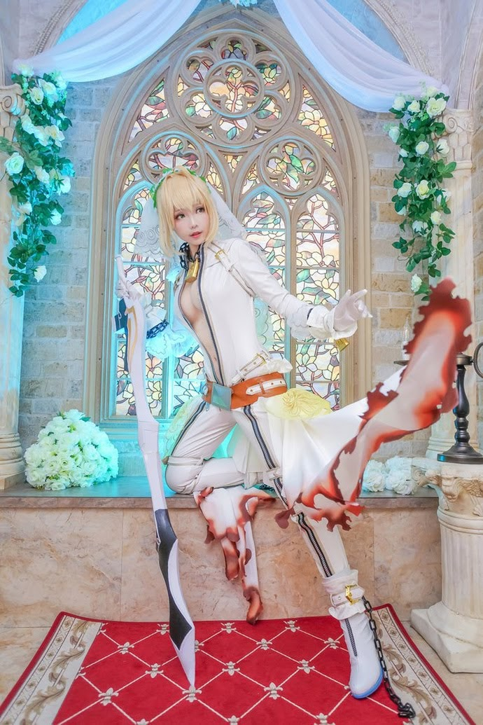 Cosplay Saber (Altria Pendragon) - Fate Series | P5