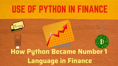use of python in finance