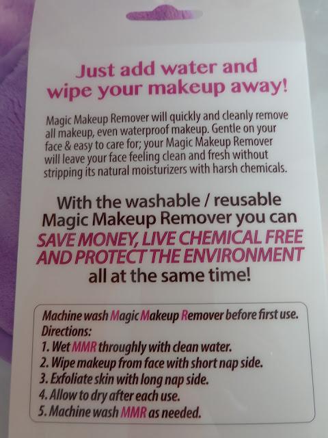 makeup removing cloth
