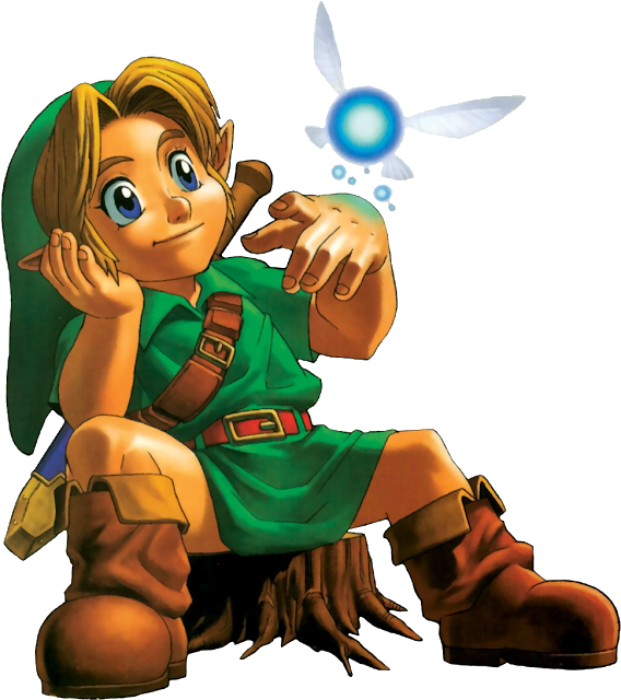 Legend of Zelda Link Navi