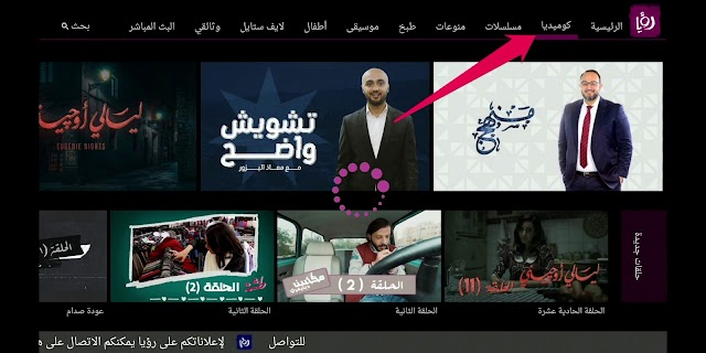Roya TV is a free app on the Fire Stick for Arabic TV shows