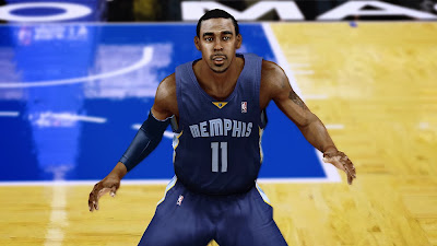NBA 2K14 Mike Conley Cyberface Mod