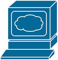 Die Cloud bietet Software as a Service.