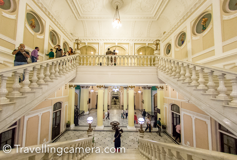 The Lalitha Palace was built in 1921 at the orders of His Highness Krishnaraja Wodeyar IV, the Maharaja of Mysore  for the exclusive stay of the then Viceroy of India.