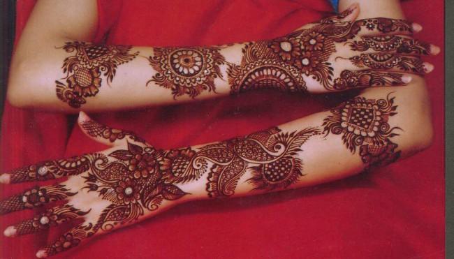 Fashion Glamour World New Wedding Bridal Latest Mehndi Designs For