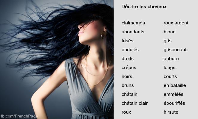 Przymiotniki dotyczące wyglądu - słownictwo 5 - Francuski przy kawie