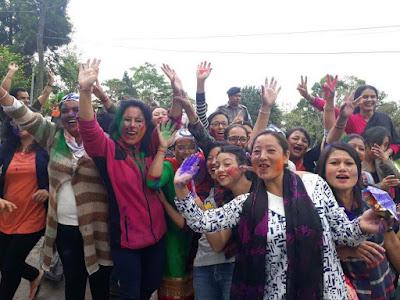 TMC victory in Mirik