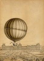 Gambar Jacques Charles - balon udara