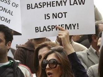 Protesta contra ley de blasfemia