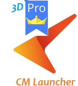 Download CM Launcher 3D Pro Free For Android