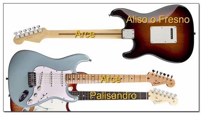 Tipos de Maderas para una Guitarra de Estilo Stratocaster