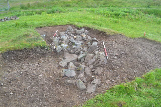 'Warrior of high status' was buried at Scottish Viking boat burial site
