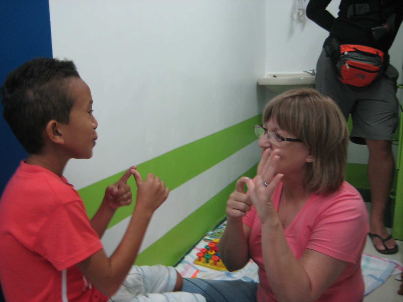 Philippine Cleft Palate Surgical Speech Mission Speech Therapy Week 2