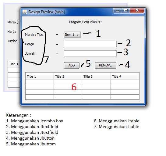 3 - Tutorial Mmebuat Aplikasi Penjualan HP Menggunakan Java