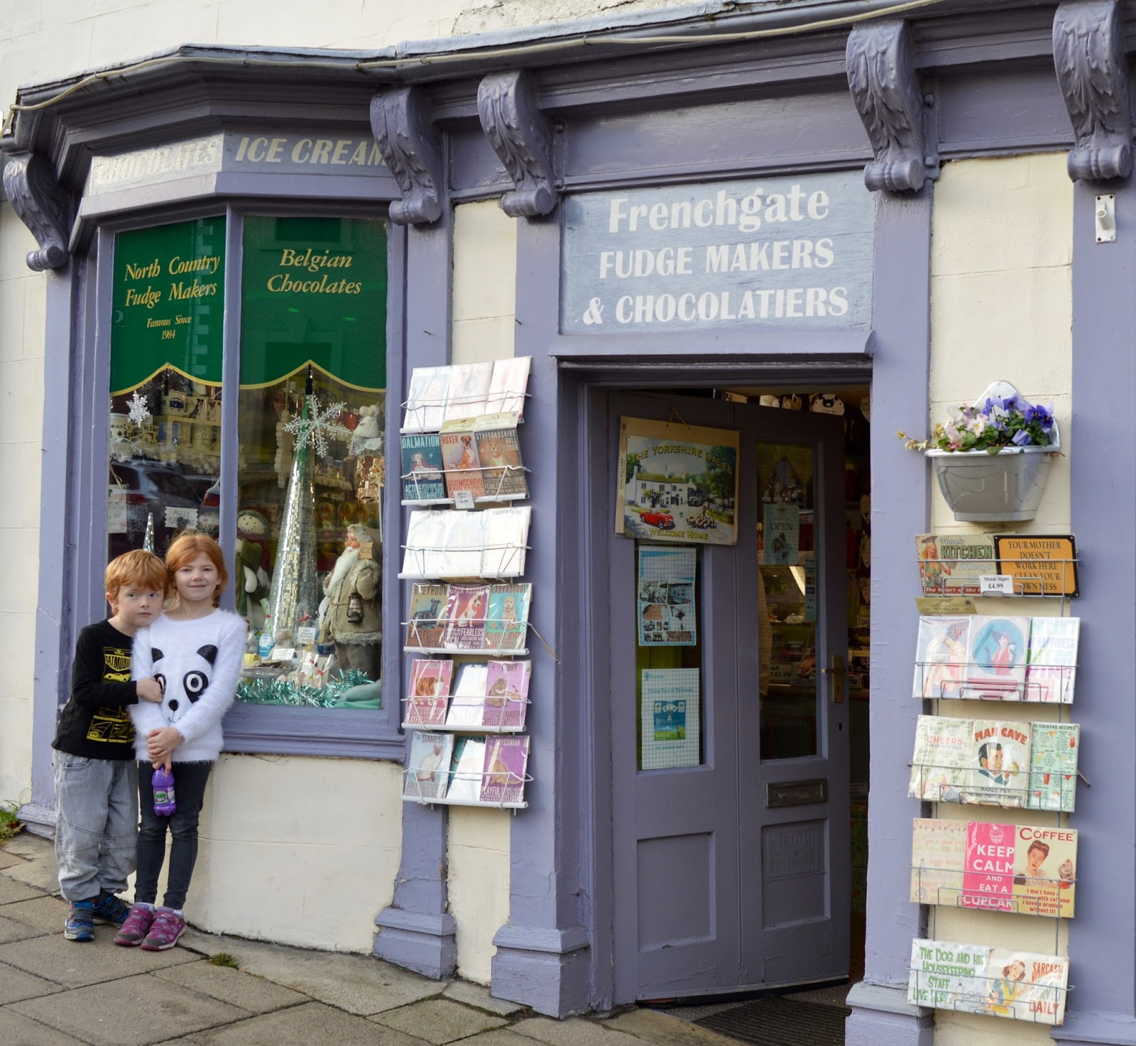 A weekend break in Richmond, North Yorkshire | What to do with the kids - Frenchgate Fudge Makers and Chocolatiers