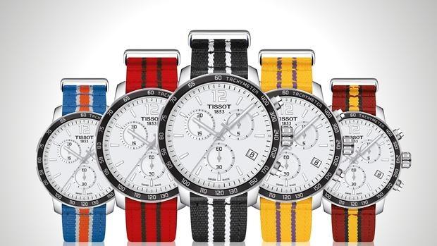 Tissot presenta los nuevos relojes de la NBA