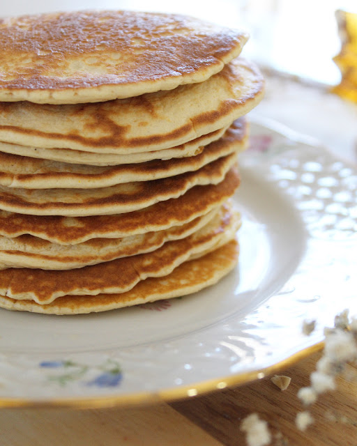 Hotcakes de avena y queso ricotta