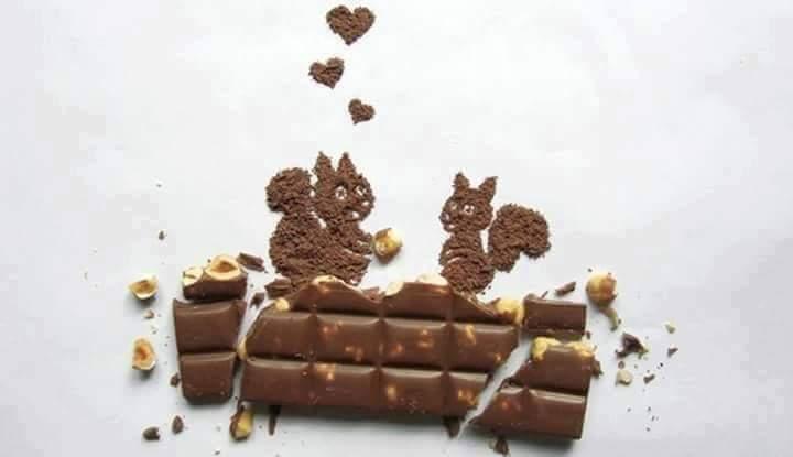 Chocolate Art  yang sungguh menakjubkan.