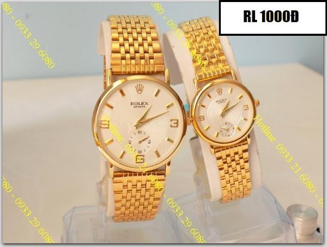 Đồng hồ cặp đôi Rolex 1000Đ