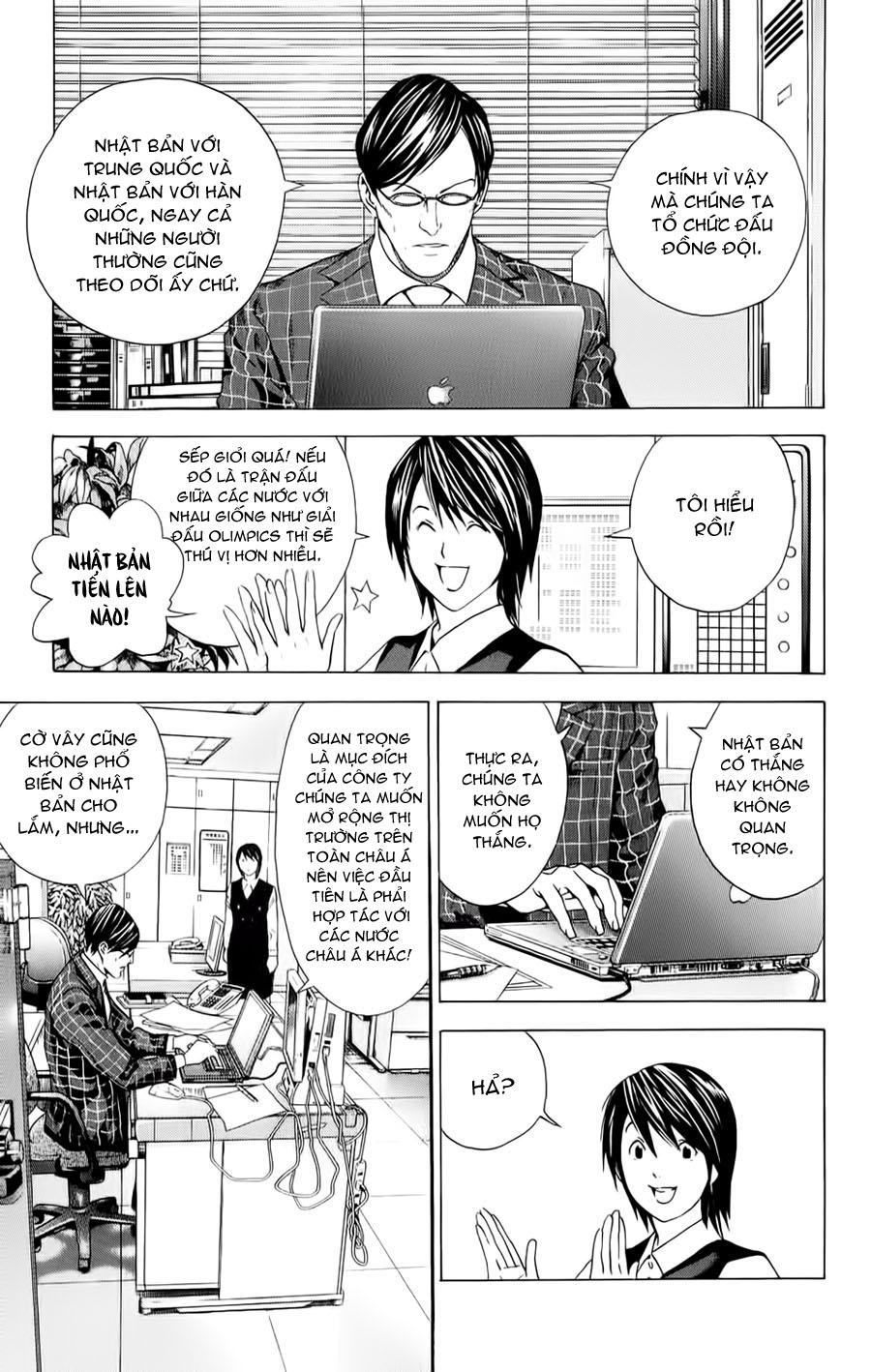 Hikaru No Go hikaru no go chap 152 trang 19