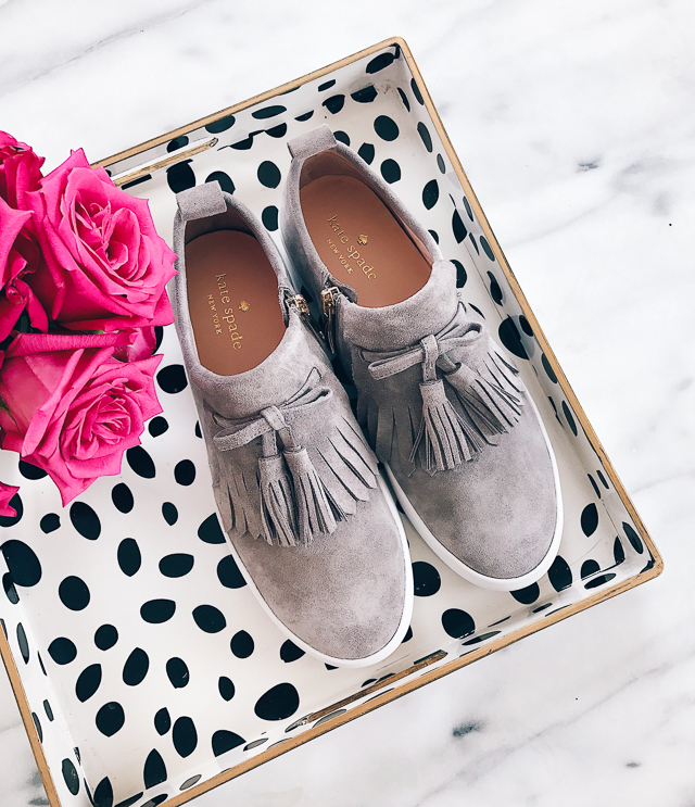 Kate Spade Lenna Tassel sneakers