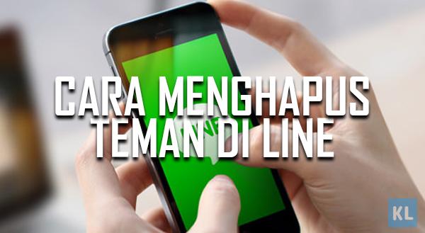 Cara menghapus teman di aplikasi LINE