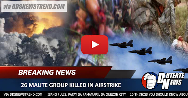 2qlyNtJ BREAKING: 26 Maute Group Killed in Airstrike