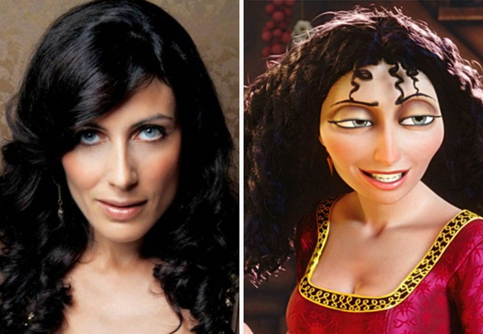 #10 Lisa Edelstein Looks Like Mother Gothel From Tangled - 10 Real Life Disney Characters