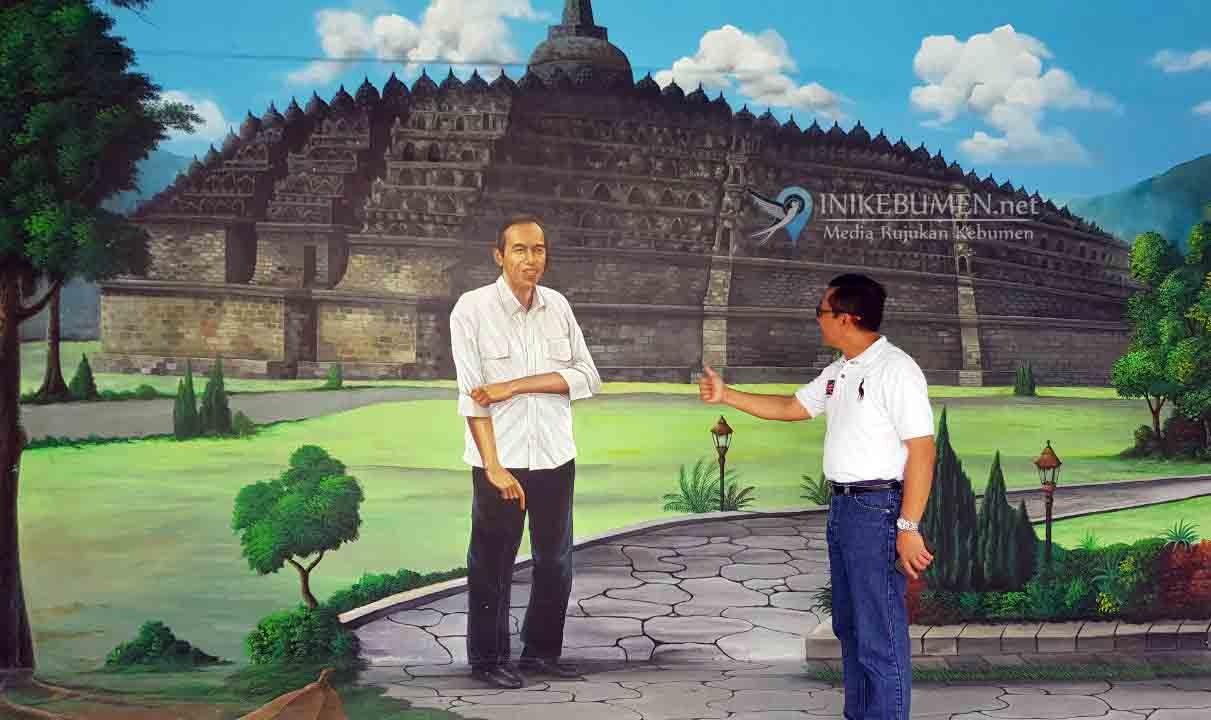 Di 3D Studio Kebumen, Warga Bebas Foto Bareng Presiden Jokowi