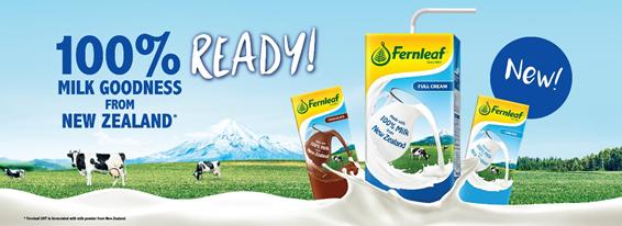 Susu Fernleaf Penuh dengan 100% Manfaat Terjamin dari New Zealand!
