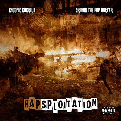 Endemic Emerald & Skanks The Rap Martyr - Rapsploitation - Album Download, Itunes Cover, Official Cover, Album CD Cover Art, Tracklist