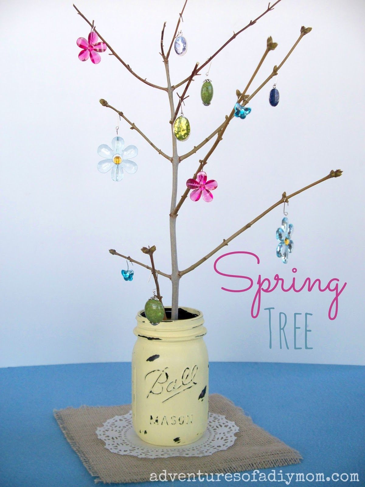 Crafty Spring Tree