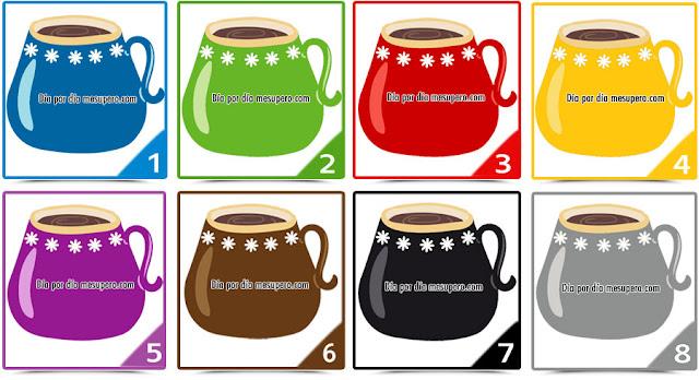 El test de las tazas de Colores