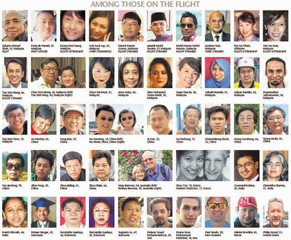 mh370 all the people