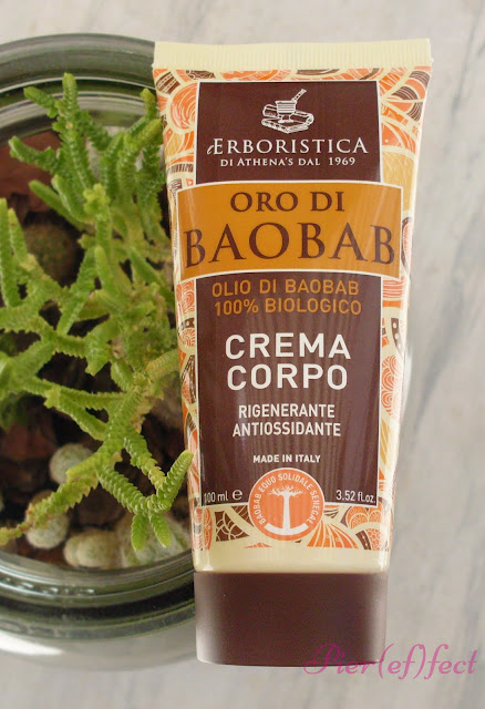 Review L'Erboristica Oro di Baobab: docciaschiuma, crema corpo e crema viso