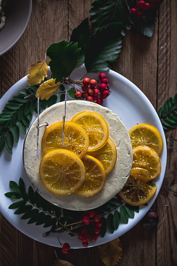 Citrus Carrot Cake with Cream Cheese Frosting and Candied Oranges {the best ever cake} thisisasweetblog.blogspot.com
