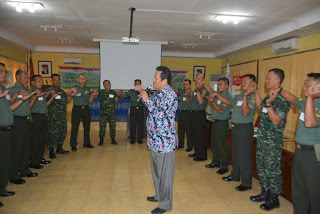 Kepala BKKBN Lampung Buka Diklat Program Bagi TNI