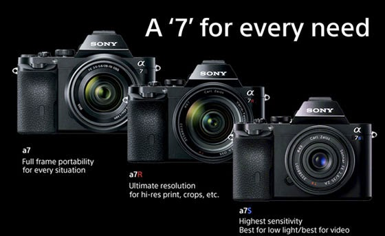 Comparing the Sony A7 cameras Campbell Cameras inFOCUS Blog