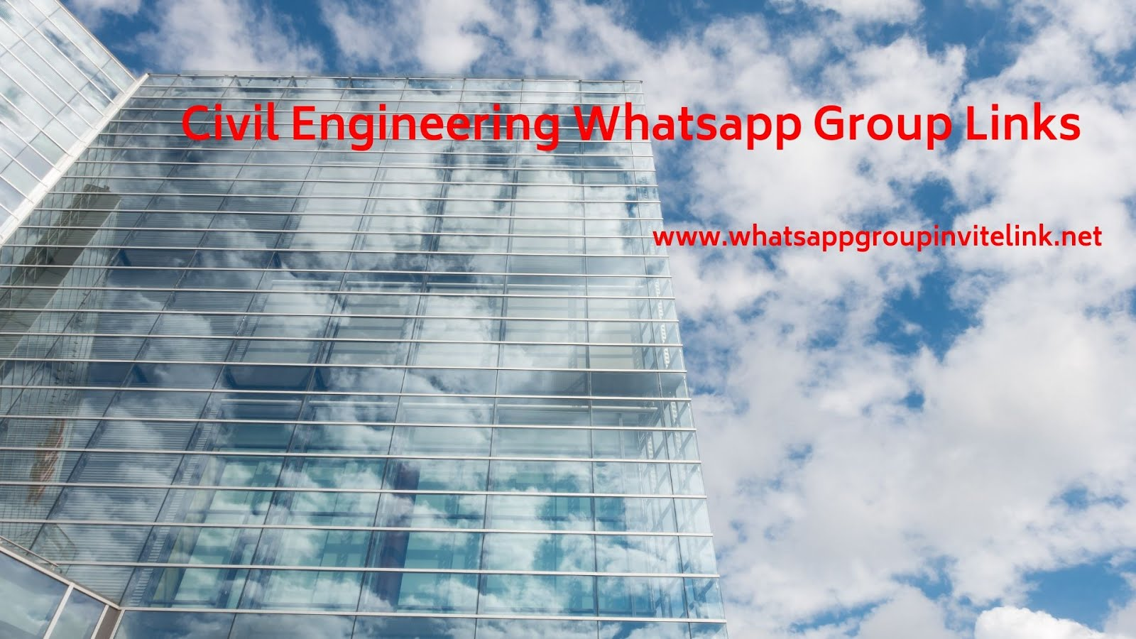 Whatsapp Group Invite Links: Civil Engineering Whatsapp Group Links