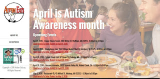 April is Autism Awareness Month - Autism Eats - May 2