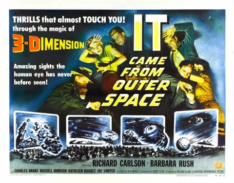 Poster - It Came from Outer Space (1953)