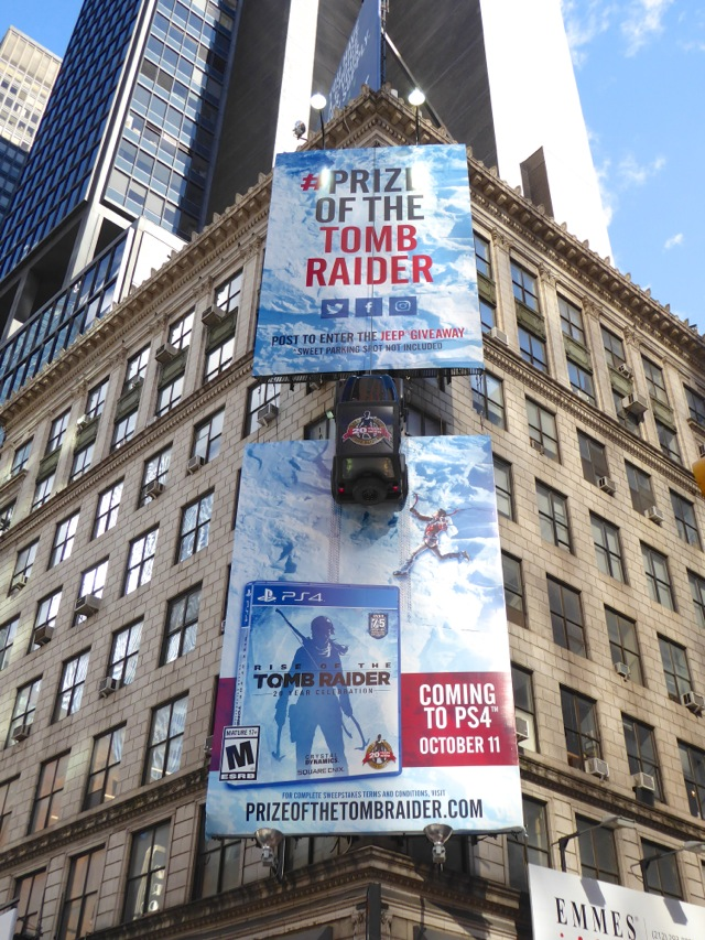 Daily Billboard: Rise of the Tomb Raider Jeep 3D special ...