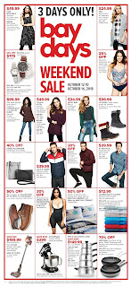 Hudson's Bay weekly Flyer October 12 - 18, 2018