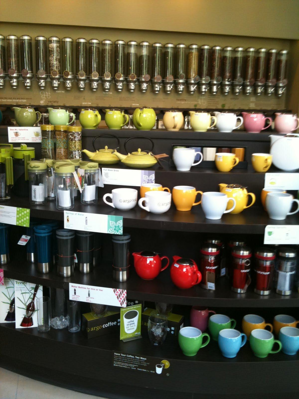 Argo Tea Drink Menu