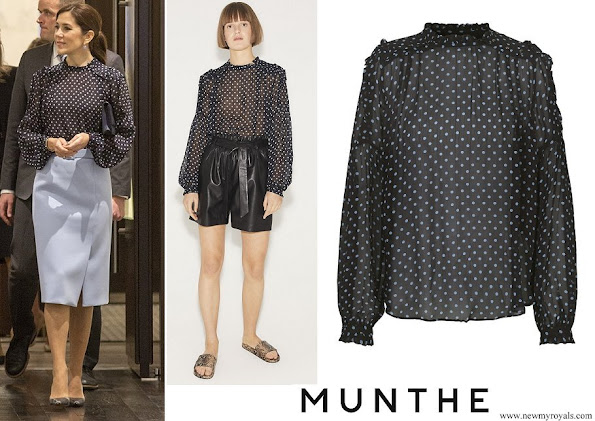 Crown Princess Mary wore Munthe Aisha Top