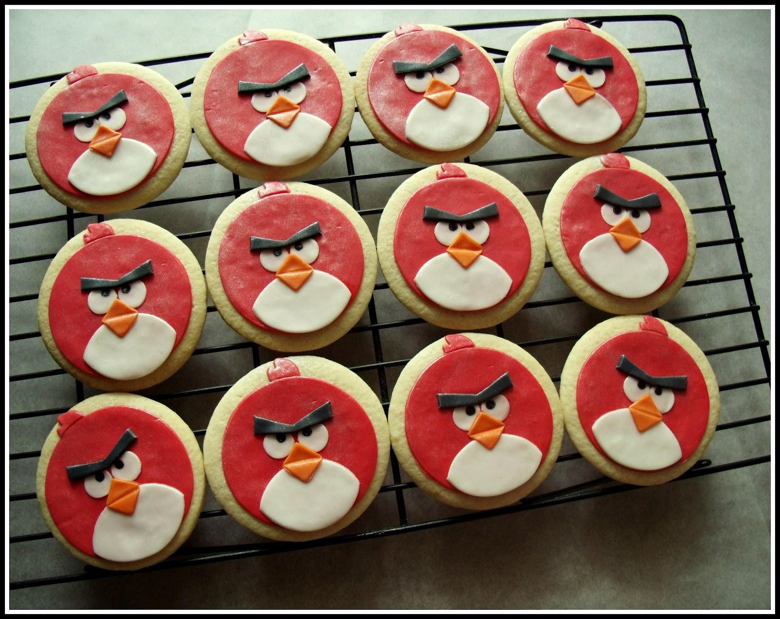Frog Prince Angry Birds Cookies